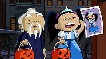 Сезон 1, серия 17 — Хэллоуинская вечеринка