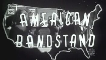 american bandstand american dreams wikia fandom powered by wikia rh americandreams wikia com 1980 American Bandstand Dancers American Bandstand Logo 60s