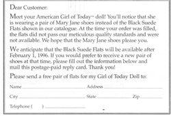 AGoT Black Suede Flat Note