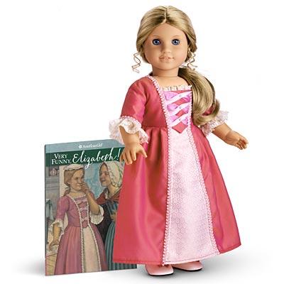American Girl Doll Felicity Meet Dress new