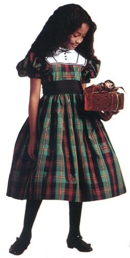 addyplaiddress girlsjpg - Girls Plaid Christmas Dress