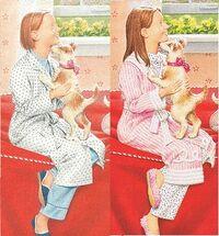 Emily Pajama Comparison