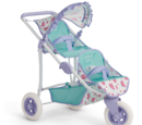 Bitty's Double Stroller