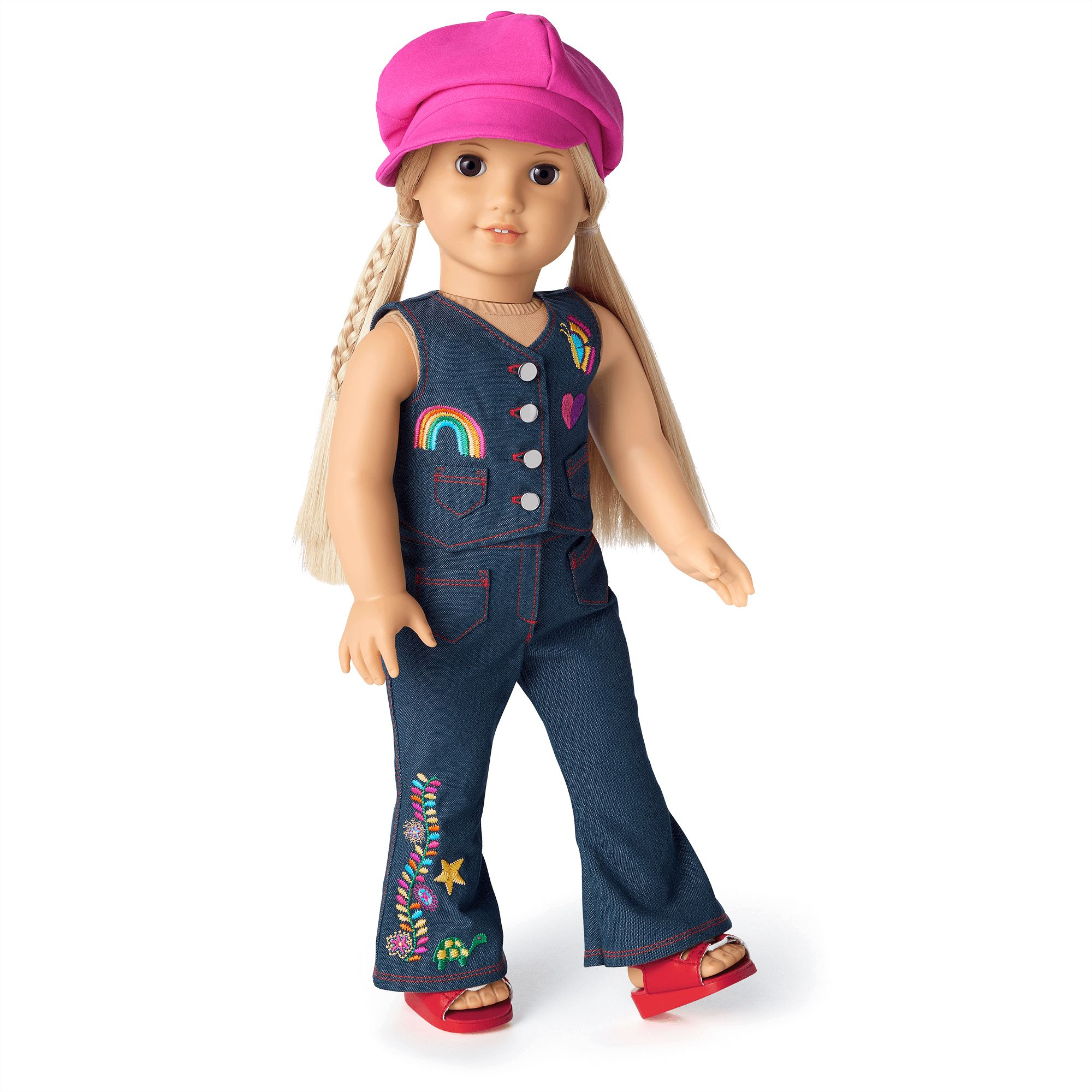 American Girl Elizabeth Cole Friend of Felicity Summer Outfit Satin Hat Only
