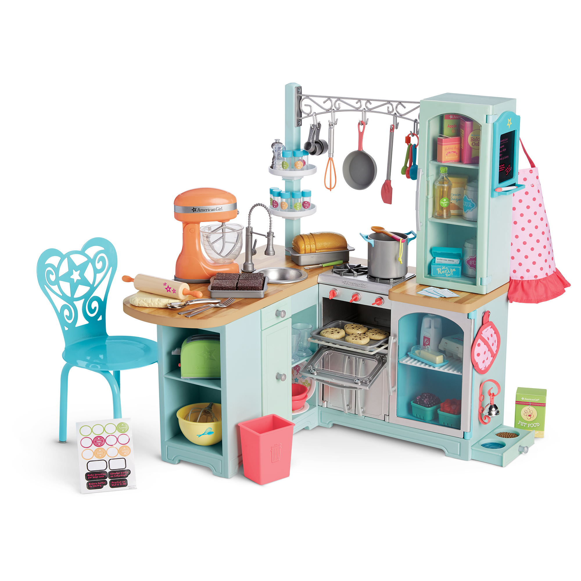 Image Gourmetkitchenset1 Png American Girl Wiki Fandom Powered