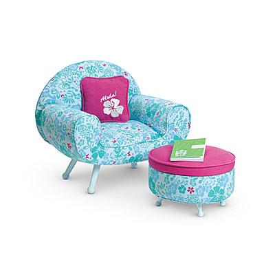 Peachy Kananis Lounge Chair Set American Girl Wiki Fandom Unemploymentrelief Wooden Chair Designs For Living Room Unemploymentrelieforg