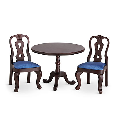 table and chairs american girl wiki fandom powered by wikia. Black Bedroom Furniture Sets. Home Design Ideas