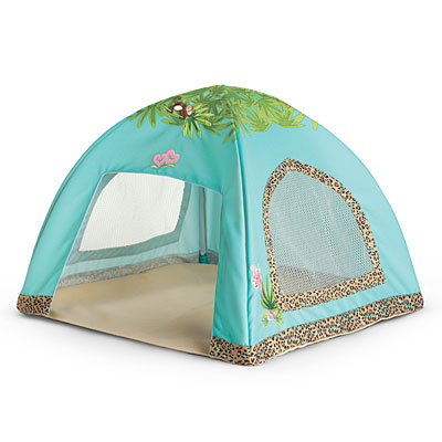 Jungle Play Tent.  sc 1 st  American Girl Wiki - Fandom : girl play tents - memphite.com