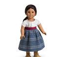 Indigo Skirt and Camisa