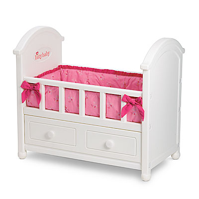 Babyu0027s Crib  sc 1 st  American Girl Wiki - Fandom : bitty baby changing table set - Pezcame.Com