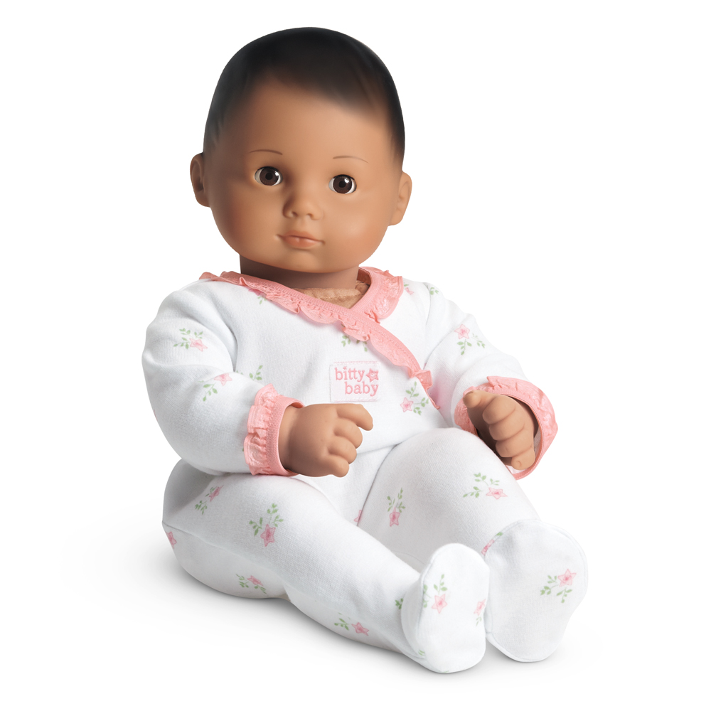 American Girl Bitty Baby Retired *PINK BOW* Meet Sleeper