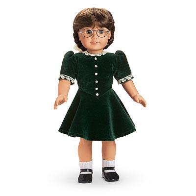 fb8901b54 Evergreen Velvet Dress | American Girl Wiki | FANDOM powered by Wikia