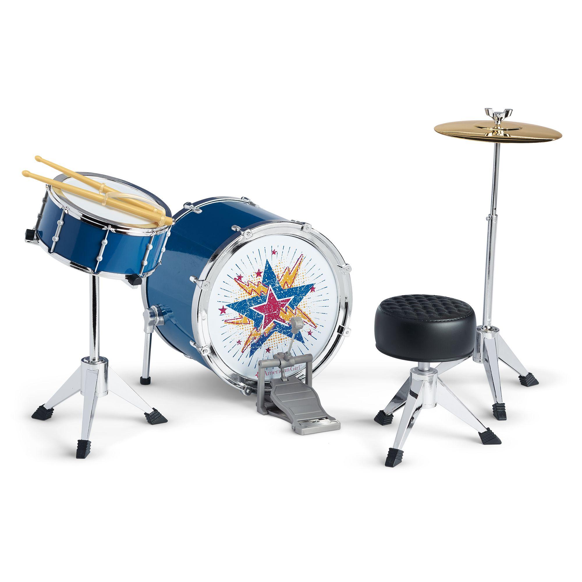 logan 39 s rhythmic drum set american girl wiki fandom powered by wikia. Black Bedroom Furniture Sets. Home Design Ideas