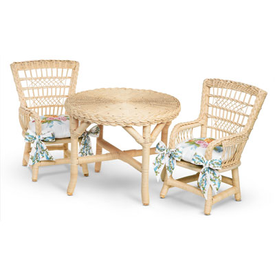 Wicker Table and Chairs   American Girl Wiki   FANDOM