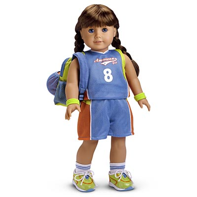 American Girl Doll of Today Retired 2005 Basketball Outfit Sneakers Shoes ONLY