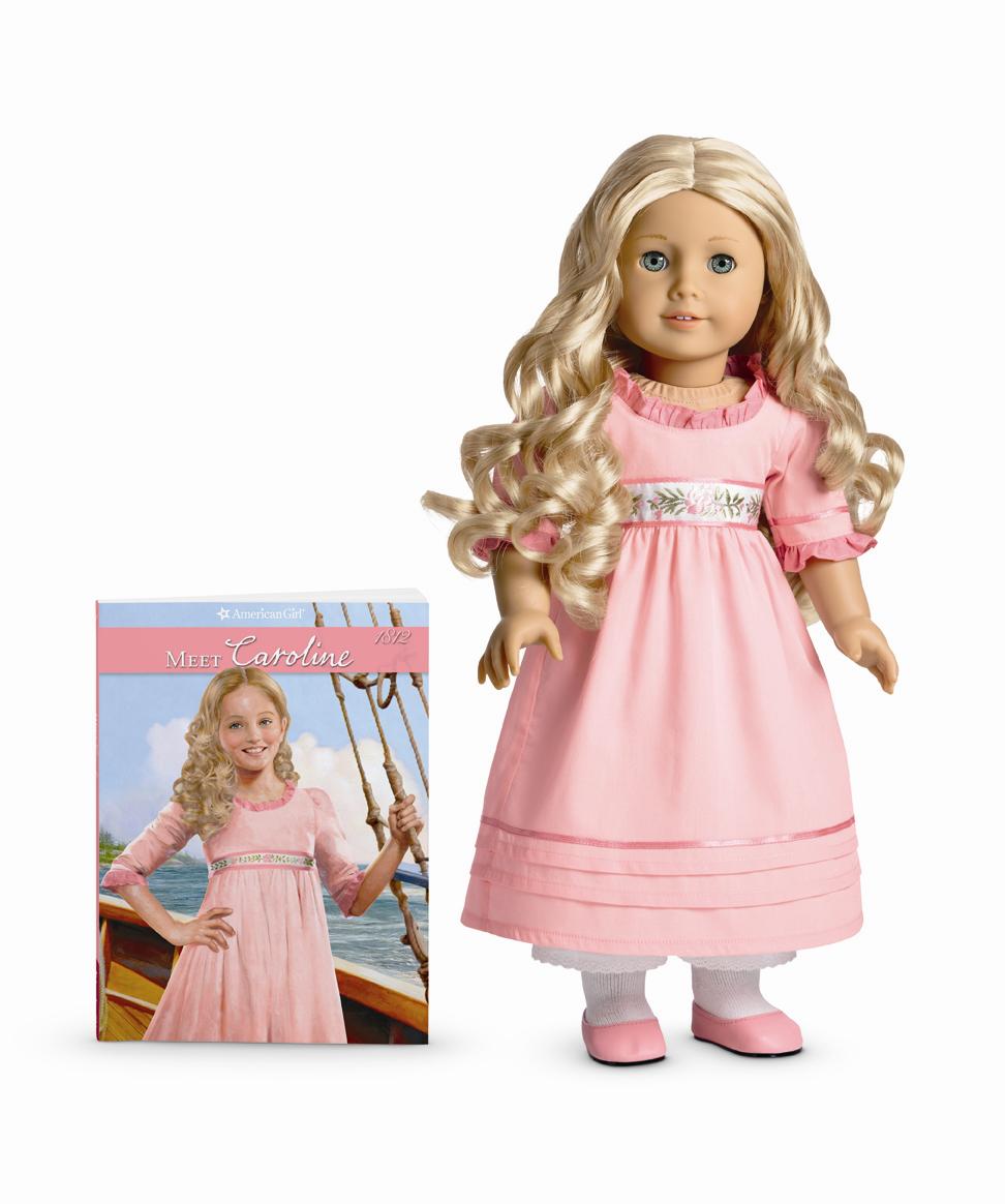 Retired American Girl Doll Caroline/'s Meet Dress and Pantalettes NEW!
