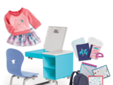 Truly Me Desk and School Set
