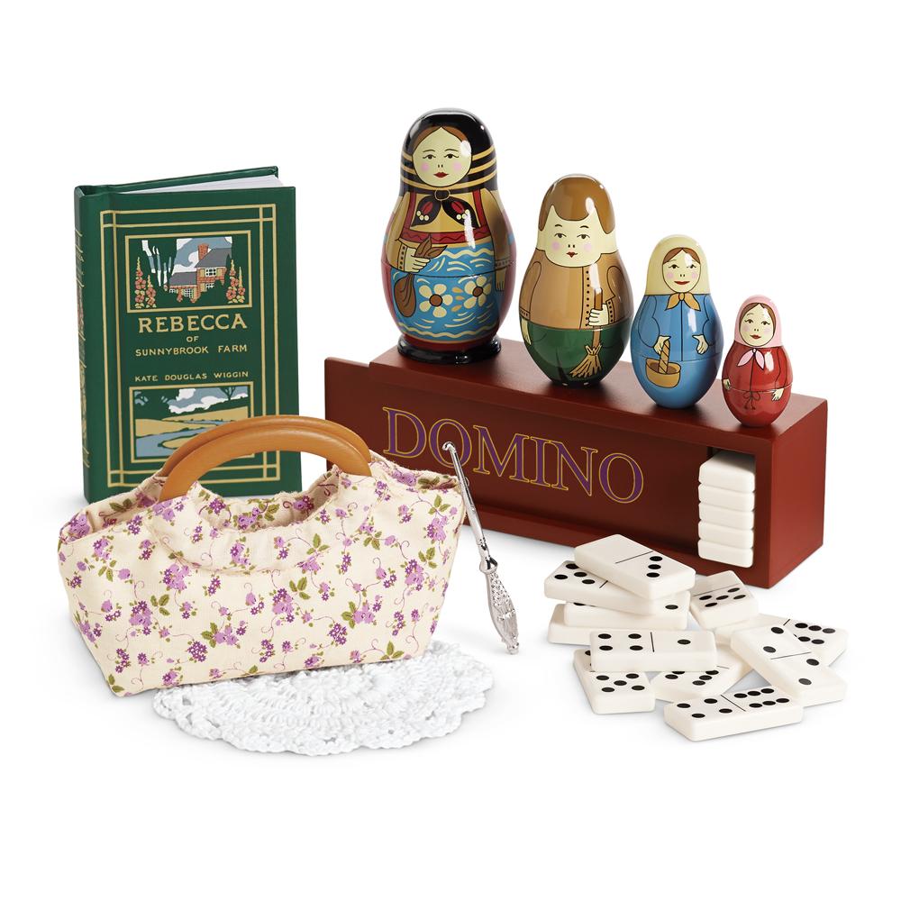 American Girl Doll Bedroom: Rebecca's Bedroom Accessories