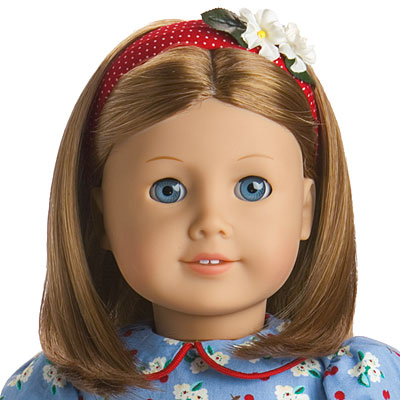 AMERICAN GIRL DOLL BLUE KNIT HEADBAND ONLY