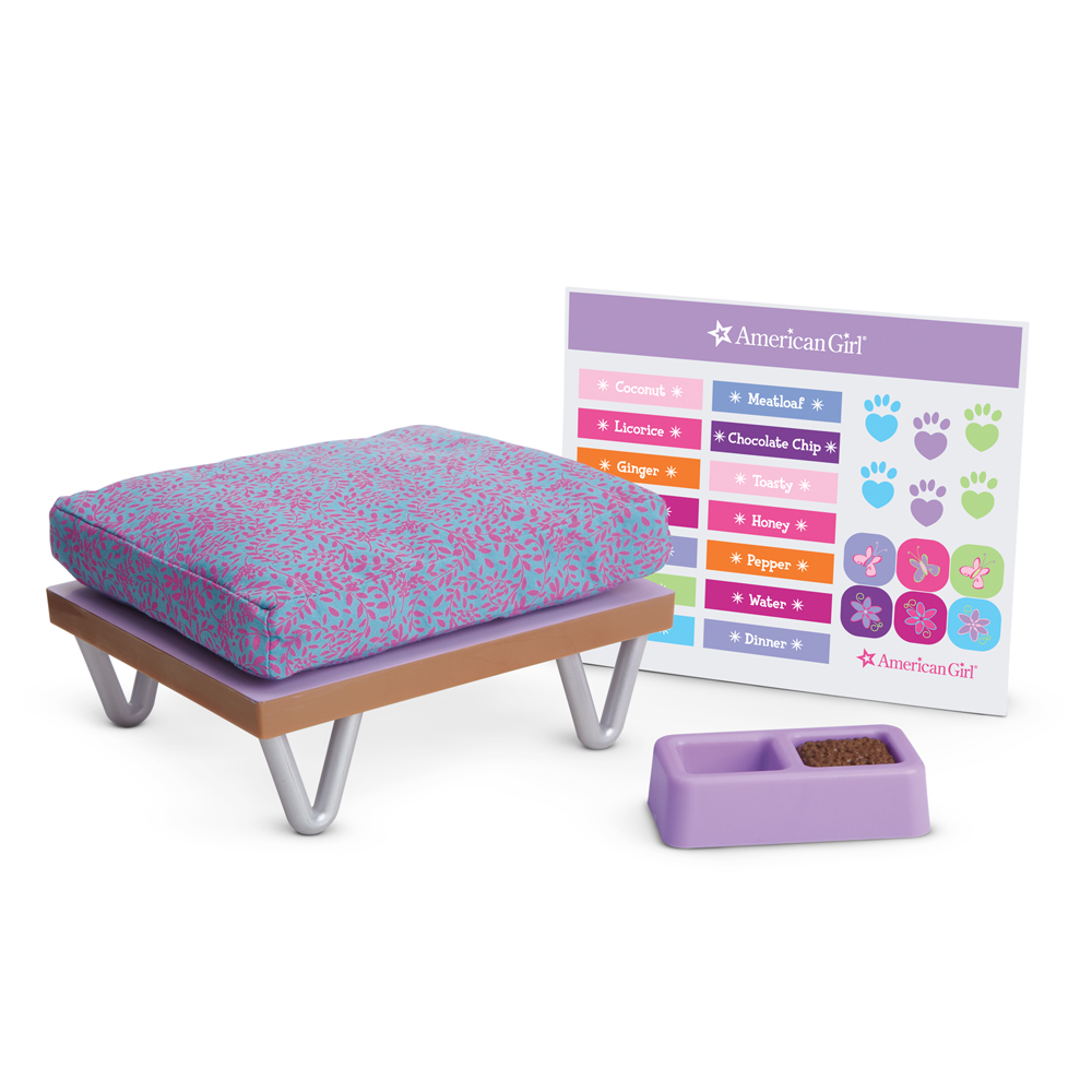 sleep and snack pet bed - Beds For American Girl Dolls
