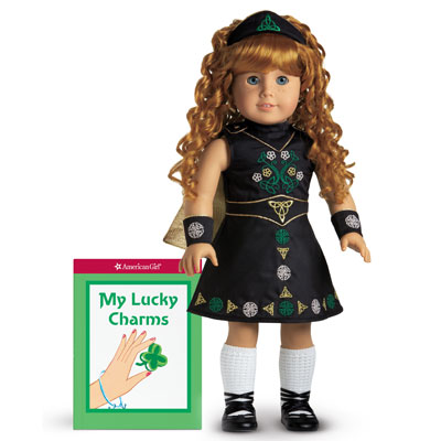 American Girl Doll Retired Nellie Irish Dance Outfit of Today Poodle Socks ONLY