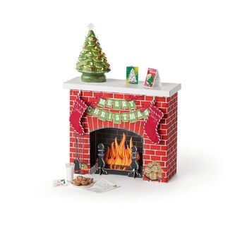 JulieChristmasFireplace