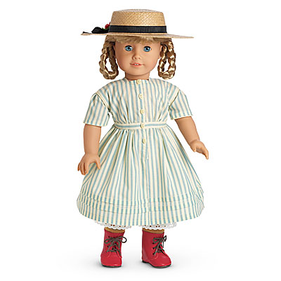 45bdabbae Kirsten s Summer Dress and Straw Hat