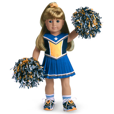 Unique Cheerleader Outfit III | American Girl Wiki | FANDOM powered by Wikia KL26