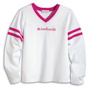 LogoVNeckTee girls