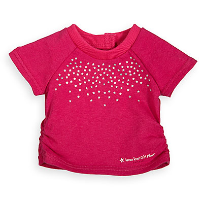 on sale 48e3d 1e1ab AGP Chicago Pink Starred T-Shirt | American Girl Wiki ...