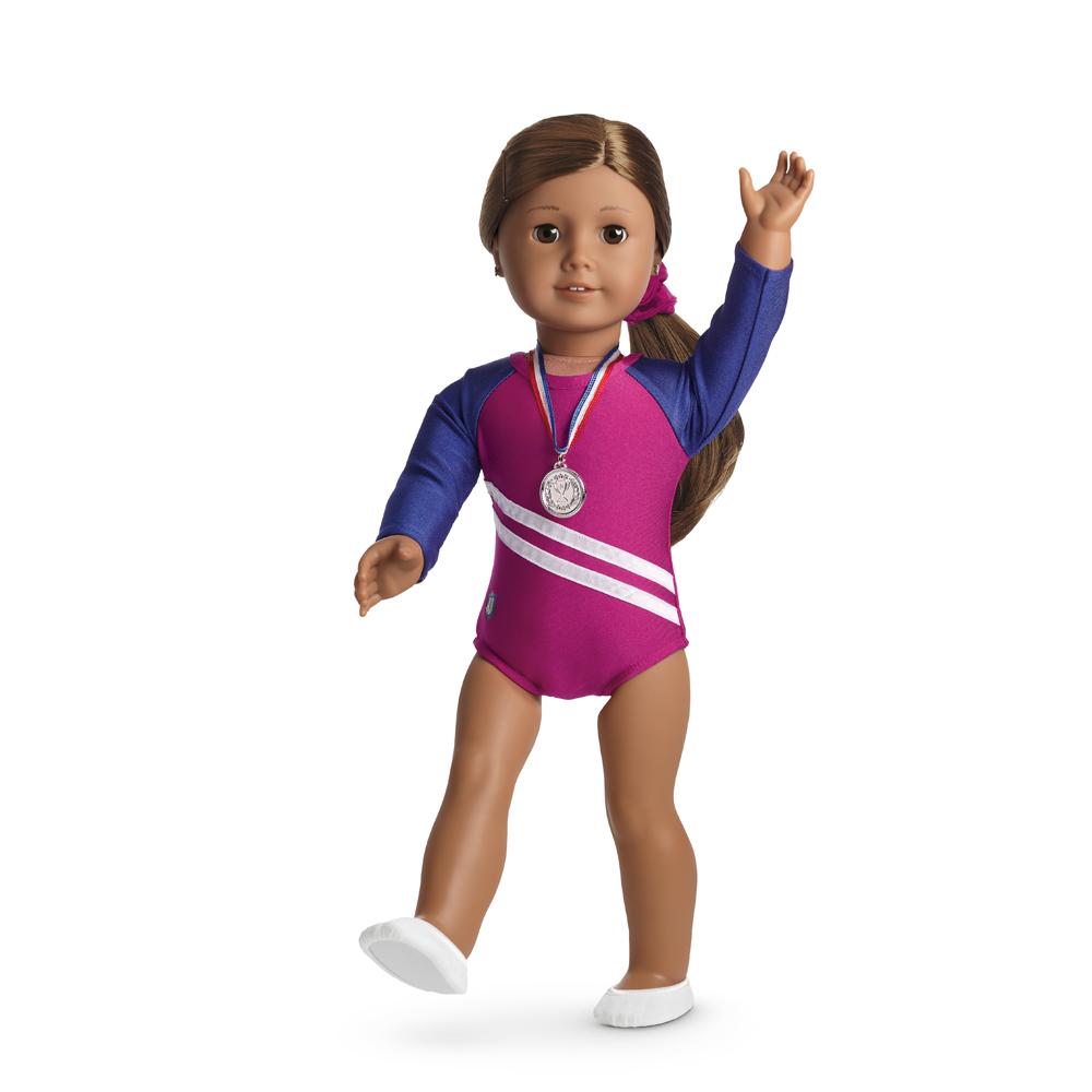 Rhythm Gymnastics Outfit for Dolls Truly Me 2015 American Girl