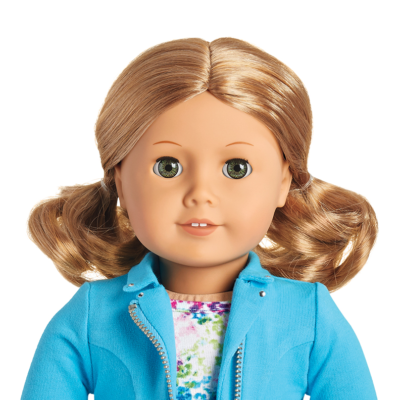 "NEW in Box American Girl Truly Me #21 18/"" Doll Light Skin Blonde Hair Hazel Eyes"