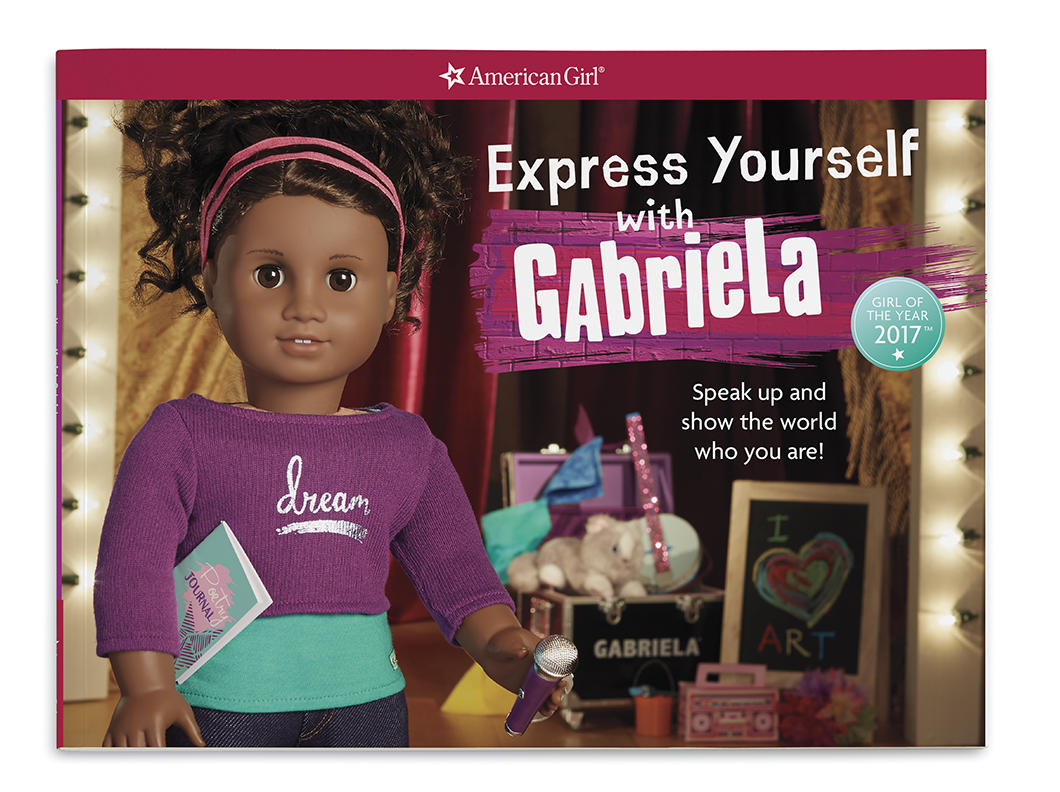Express yourself with gabriela american girl wiki fandom powered gabbyexpressbook solutioingenieria Images
