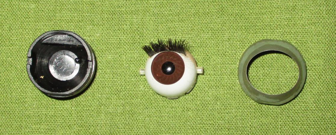 Parts custom Repair American Girl 1 pair new green eyes