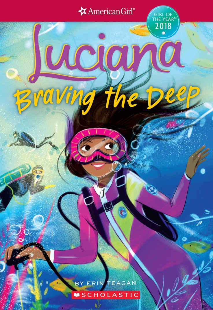 Luciana Braving The Deep American Girl Wiki Fandom