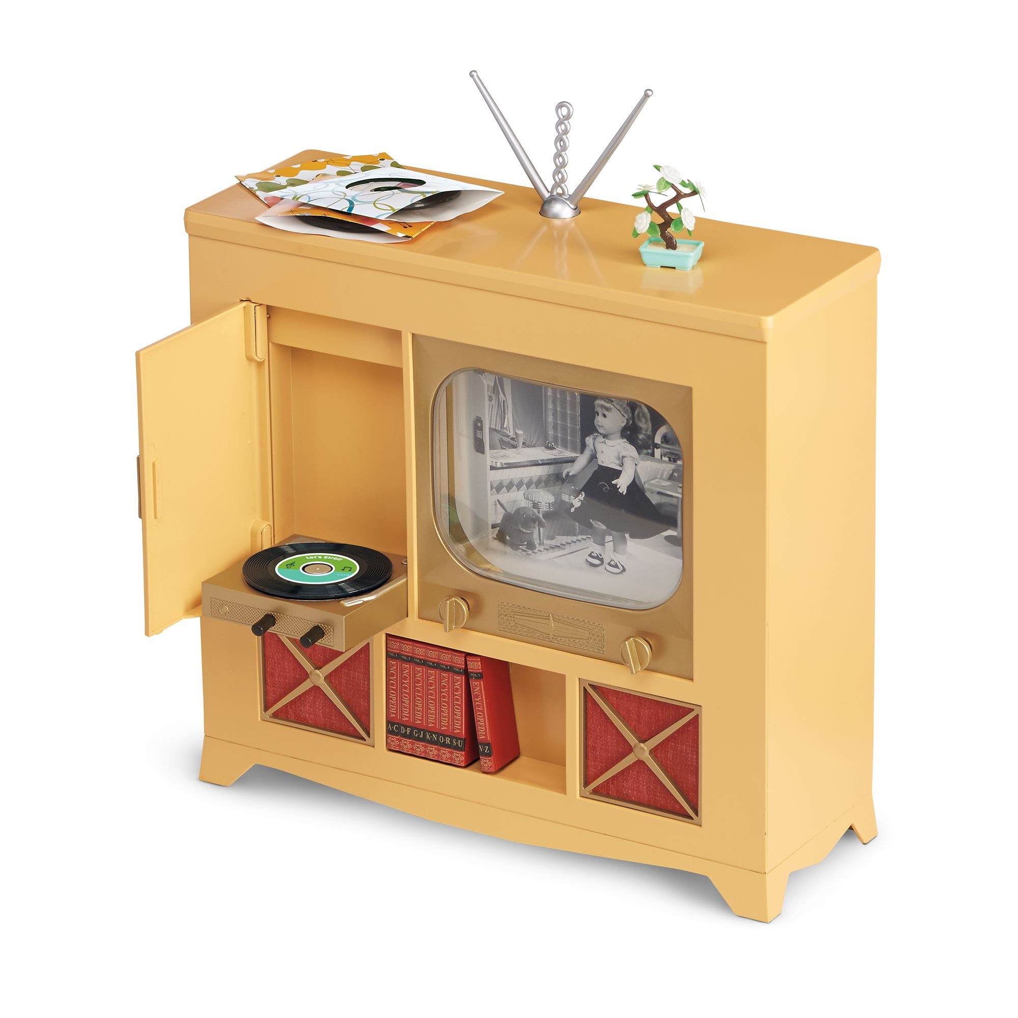 Maryellens Television Console American Girl Wiki FANDOM powered