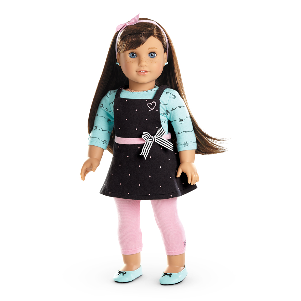 American Girl is an American line of inch (46 cm) dolls released in by Pleasant Company. The dolls portray eight- to eleven-year-old girls of a variety of ethnicities. They are sold with accompanying books told from the viewpoint of the girls.
