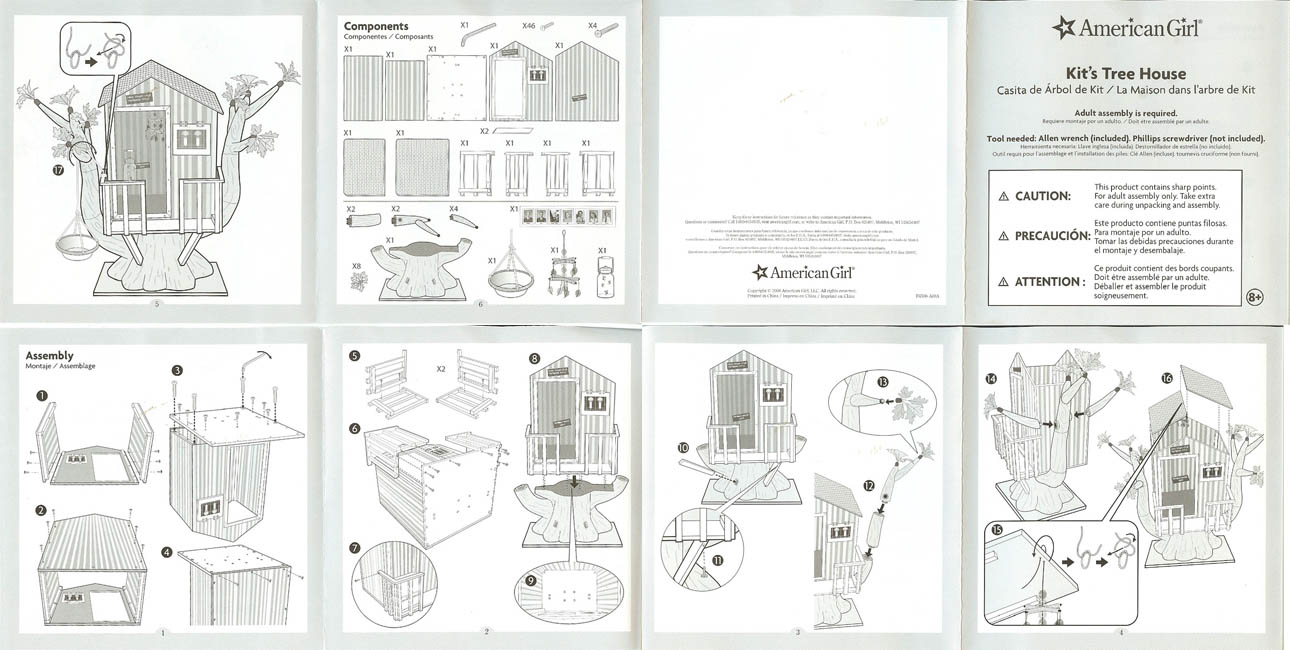 how to draw a treehouse step by step. Plain Draw Instructions Kitstreehouseinstructions Instructions For Assembling Kitu0027s  Treehouse Inside How To Draw A Step By