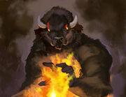 Black Phoenix The Buffalo Man