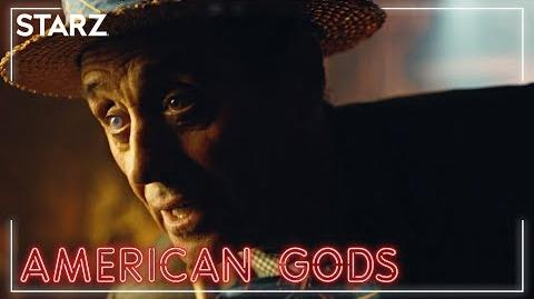 American Gods - Mr Wednesday. Wednesday - Season 2