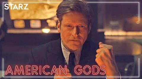 who is mr world in american gods