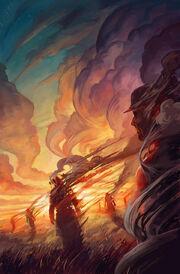 Black Phoenix American Gods