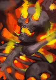 Black Phoenix Bone-Fire