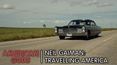 Neil Gaiman- Travelling America - American Gods