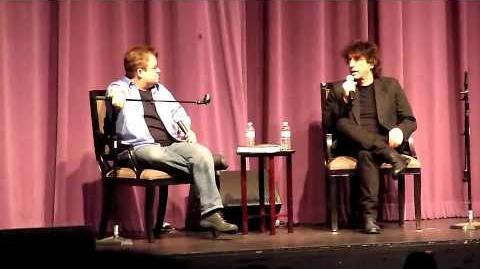 Neil Gaiman & Patton Oswalt @ Saban Theater in L.A. 6 28 11 pt5 of 6