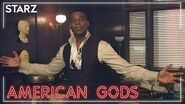 American Gods - 'Demore Barnes Tours the Funeral Home' BTS Clip - STARZ