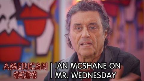 Ian McShane on Mr. Wednesday American Gods