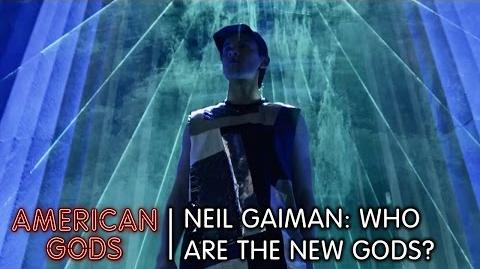 Neil Gaiman Who are the New Gods? American Gods