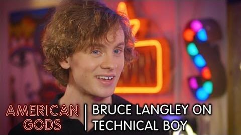 What's the Deal with Technical Boy? Bruce Langley Explains All - American Gods