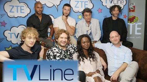 American Gods TVLine Studio Presented by ZTE Comic-Con 2016